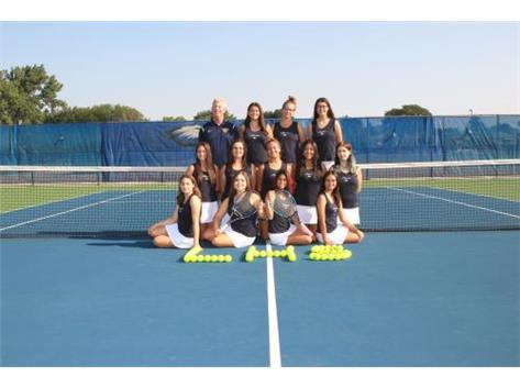 2017 Girls Varsity Tennis Team