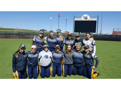 Leyden Softball sweeps Saturdays Doubleheader against De La Salle 8-2 and 11-5