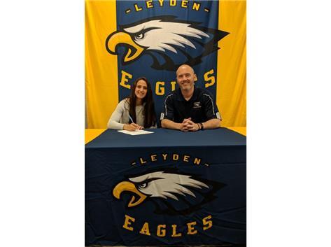 Coach Dempsey and Esther Aldana