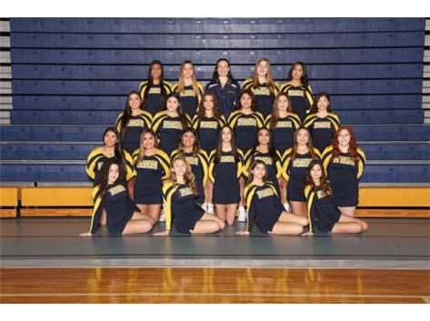 Varsity Cheerleading.  Go Eagles