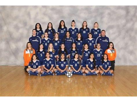 2019 Varsity Girl's Soccer.  Go Eagles!
