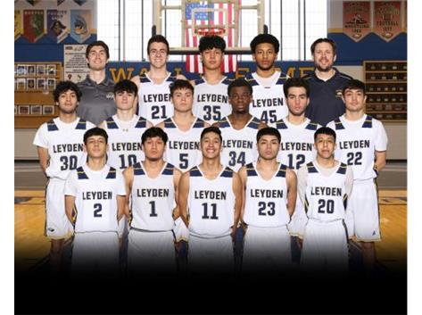 20-21 Leyden Varsity Basketball Team