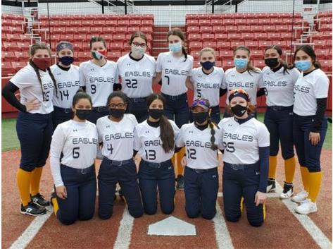 2021 Varsity Softball.  Go Eagles!!