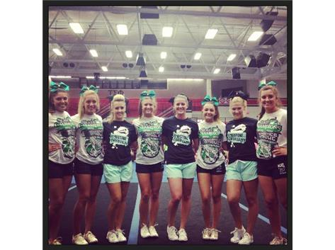 Limestone & Providence Competitive Cheer Captains.