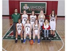 Girls Freshman Basketball Team