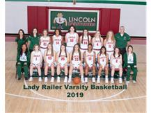 Girls Varsity Basketball Team 2018-19