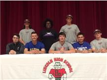 Seniors Sign Letter of Intent to play at the College Level