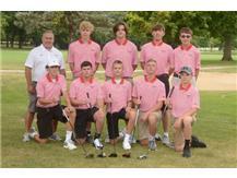 Boys JV Golf Team 2019