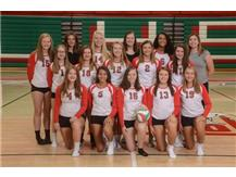 Sophomore Volleyball Team 2019