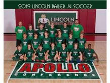 Boys Sophomore Soccer Team 2019