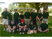 Boys JV Golf Team 2020-2021