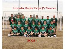Boys JV Soccer Team 2020-2021