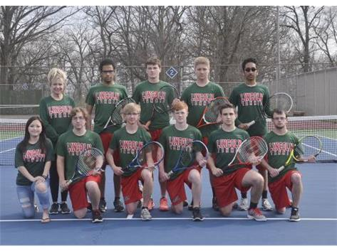 Boys Varsity Tennis Team
