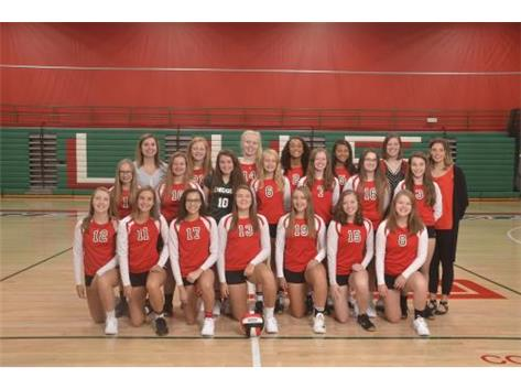 Freshman Volleyball 2018