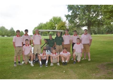 Boys JV Golf 2018