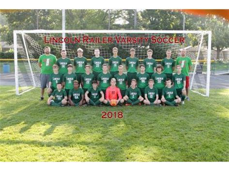 Boys Varsity Soccer 2018-19