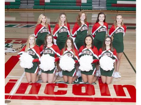 JV Basketball Cheer Squad 2018-19