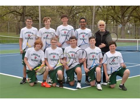 Boys Tennis Team 2019