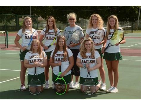 Girls Tennis Team 2019