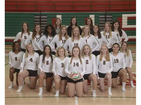 Varsity Volleyball Team 2019