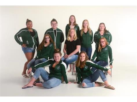 Girls Swimming & Diving Team 2019