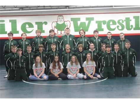 Wrestling Team 2019-2020