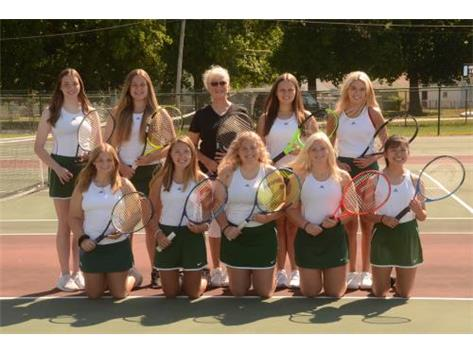 Girl Tennis Team 2020-2021