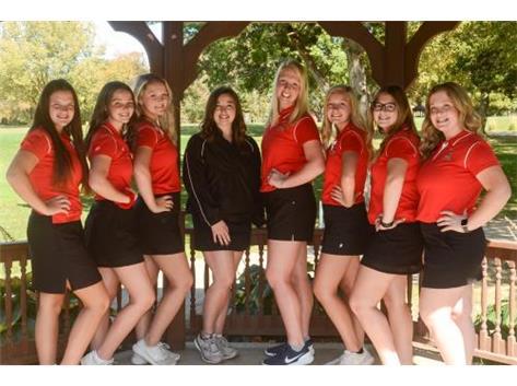 Girls Golf Team 2020-2021