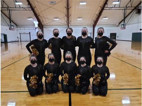 2020-2021 Basketball Dance Team