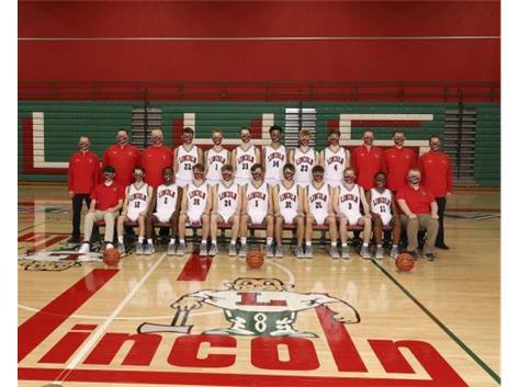 Varsity Boys Basketball Team 2020-2021