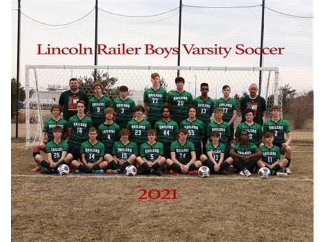 Boys Varsity Soccer Team 2020-2021