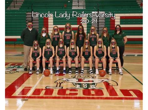 Girls Varsity Basketball Team 2020-2021