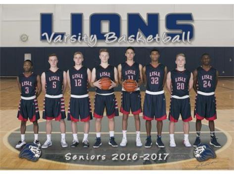 Lisle Boys Basketball Seniors