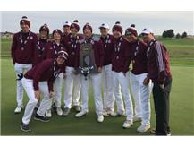3rd place Boys Golf