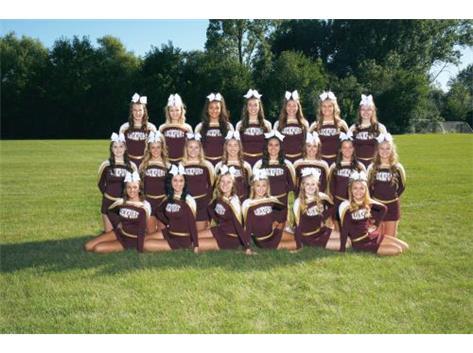 Fall Varsity Cheer 2016