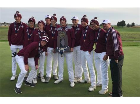 3rd place Boys Golf