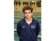 2019-2020 Boys Swim - Bryan Mendoza: State Qualifier, All Conference