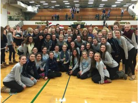 Lancettes Dance at Waubonsie Valley Invite