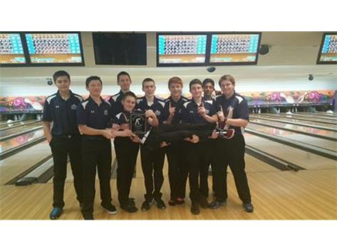 BOys F-S Bowling Joliet Central Invite Champs