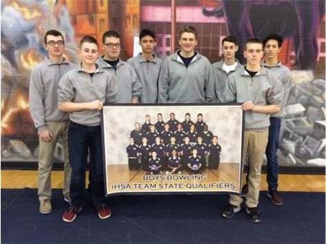 2016 Boys Bowling IHSA Team State Qualifiers