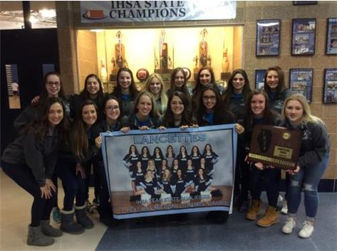 Lancettes Competitive Dance Team IHSA Team State Qualifiers & Sectional Champions