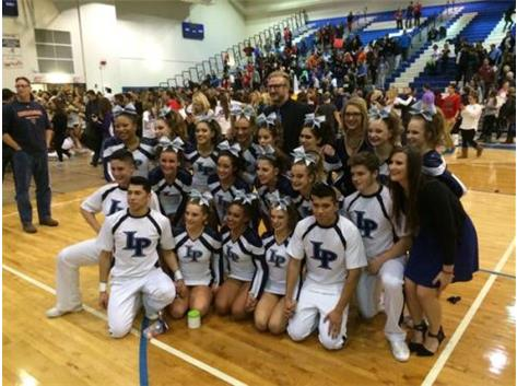 Competitive Cheer 2016 IHSA Team State Qualifiers