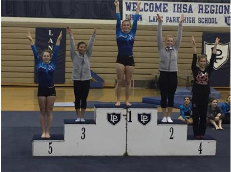 Izzy Shaw 2016 IHSA Regional Champ-Vault, Floor, All Around