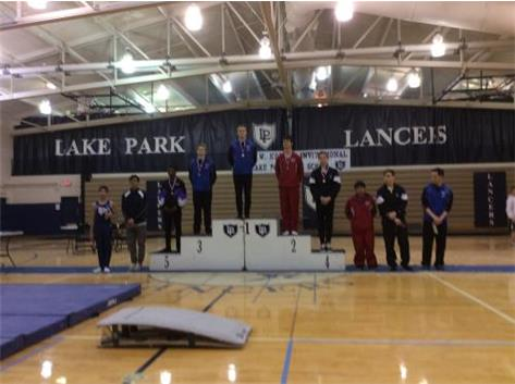 Louie Ranieri - 8th Place Floor