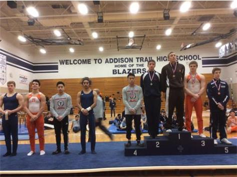 Luke Badger - 5th Place High Bar