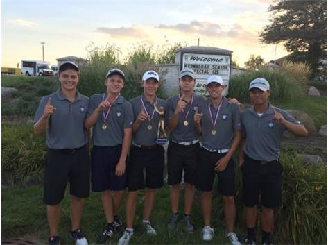 Boys Golf 2016 Larkin Invite Champs