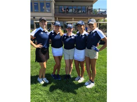 Girls Golf Plainfield North Invite