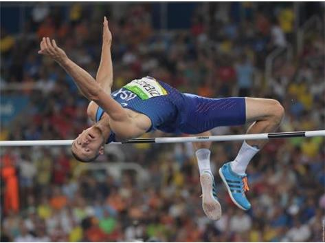 Zach Ziemek 2016 Rio Olympics - Men's Decathlon High Jump