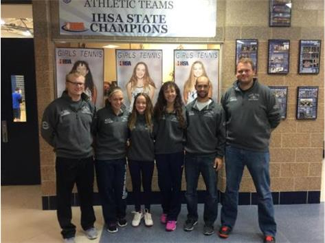 Girls Tennis IHSA State Qualifiers