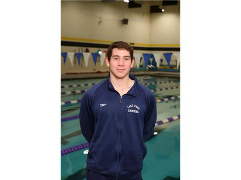 2017 Boys Swim State Qualifier & All Conference Eric Sgarbossa